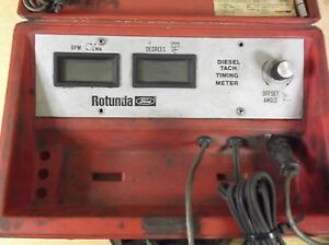 Ford Rotunda Diesel Tach Timing Meter Free Shipping
