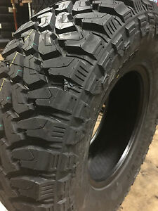 4 New Lt 35x12 50r17 Cent Dirt Commander M t Mud Tires Mt 35 12 50 17 R17 10ply