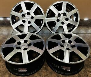 16 16 Inch Oem Factory Cadillac Cts New Wheels Rims Set Of 4 5x115