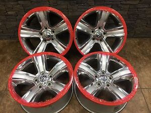 4 Dodge Ram Sport 1500 Polished Factory Oem 20 Wheels Rims 1ub18trmab 2559