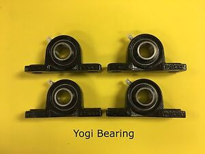 1 2 Inch Pillow Block Bearing Ucp201 8 4pcs Solid Base High Quality