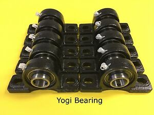 Ucp205 16 High Quality 1 Inch Pillow Block Bearing 10pcs Solid Base