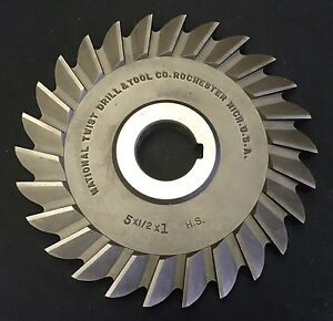 National 5 X 1 2 X 1 38t Hs Straight Tooth Side Mill Slitting Saw