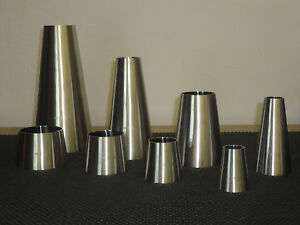 One Lot Of 2 Sanitary Stainless Steel Weld Concentric Reducer 3 X 2 1 2