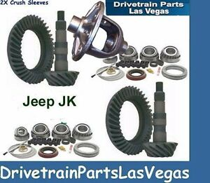 Premium Dana 30 44 Jeep Jk Ring And Master Install Gear Set Package 4 11 Ratio