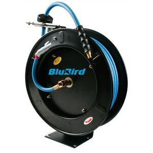 Blubird Bbr1250 Automatic Retractable Air Hose Reel 1 2 X 50