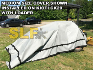 Medium Outdoor Compact Tractor Cover Usa Made John Deere Ford Case Yanmar New
