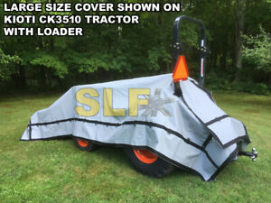 Large Outdoor Compact Tractor Cover Usa Made John Deere Ford Case Yanmar New
