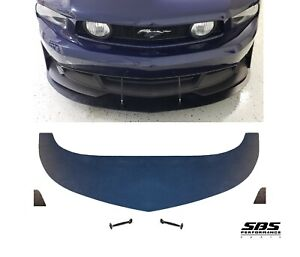 Front Splitter 2 Winglets 2 Support Rods 2010 2012 Mustang Boss 302 C S Valance