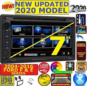 2004 2016 Ford F E Series Bluetooth Touchscreen Dvd Cd Usb Car Radio Stereo