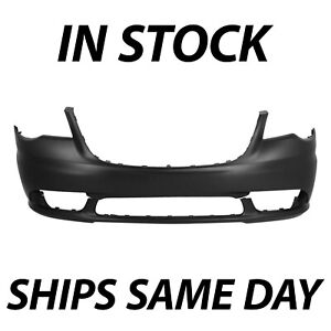 New Primered Front Bumper Cover Fascia For 2011 2016 Chrysler Town