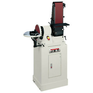 Jet 48 In Belt 9 In Disc Combination Sander W Closed Stand 708597k New