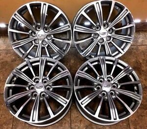 18 18 Inch 2016 16 2017 17 Cadillac Xt5 Oem Factory Original Wheels Rims 4set