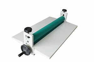 14in 360mm Manual Roll Laminating Machine Cold Laminator Manual Roller Desktop