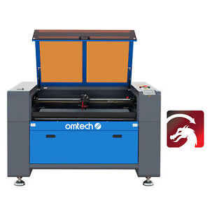 Omtech Co2 Laser Engraver Cutter 80w 35 x24 Motorized Z Ruida With Lightburn