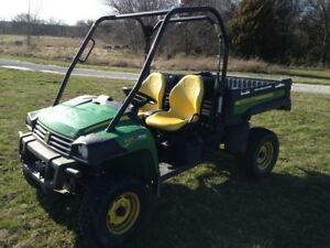 2012 John Deere Xuv 625i Green Atv s Gators