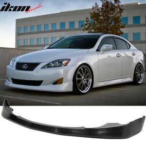 Fits 06 08 Lexus Is250 Is350 Vip Style Front Bumper Lip Pu