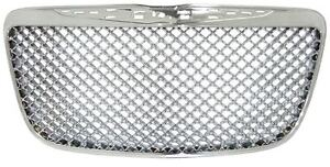 Chrysler 300 Full Replacement Chrome Grille 2011 2014 Bentley Style Mesh