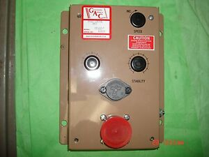 Governors America Corp Electric Governor Speed Control Unit P n Esc61c 7