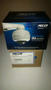 Pelco Ims0dn10 1e Sarix 0 5mp Ip Outdoor Day night Mini dome Camera W mount Ring