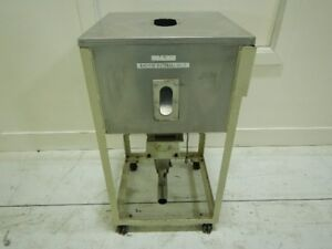 Matsui Stainless Steel Material Bin Approx 200 Lb Capacity 7583