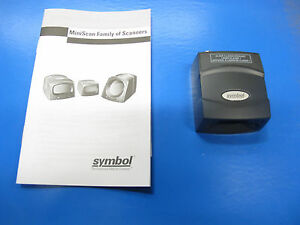 Symbol Fixed Mount Barcode Scanner With Usb Interface Ms 4407 i000r