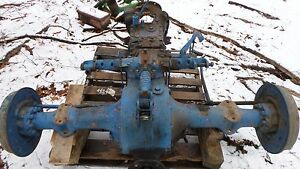 Ford 600 800 2000 Tractor Complete Rear End Used