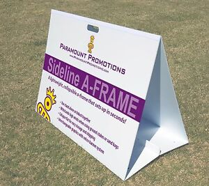 Sideline A frame Collapsible Portable A frame Sign