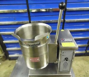 2013 Cleveland Electric 3 Gal Tabletop Tilt Kettle Ket 3t
