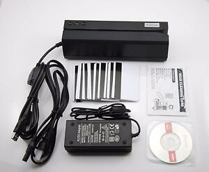 Msr605 Magnetic Stripe Bank Credit Card Reader Writer Encoder Magstripe Swipe
