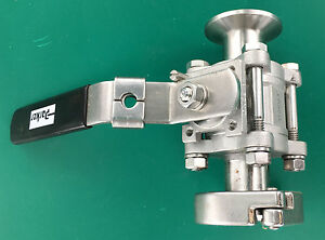 Parker 1000 Wog 1 Inch Tube Dn25 Stainless Steel Ball Valve