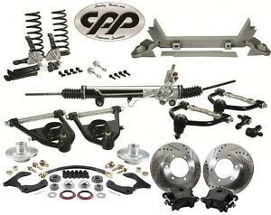 1947 1954 Chevrolet Gmc Pickup Mustang Ii 2 Ifs Cpp Conversion Kit 6 Lug
