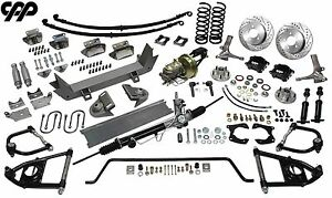 48 52 Ford F1 Truck Ultimate Performance Package Mustang Ii Ifs Suspension Kit