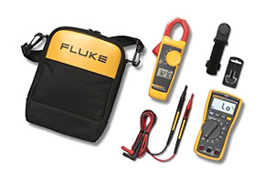 Fluke Fluke 117 323 Kit Multimeter And Clamp Meter Combo Kit Brand New