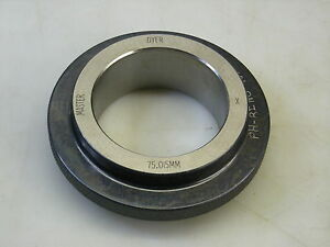 Dyer Master 75 015mm X Ring Gage Bore Gauge Setting Ring
