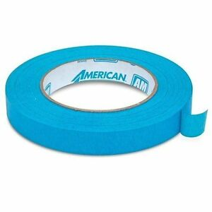 American Am1855 Automotive Refinish 3 4 Aqua Mask Masking Tape 48 Rolls 1 case
