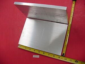 2 Pieces 1 2 X 6 Aluminum 6061 Flat Bar 9 Long Solid T6511 Plate Mill Stock