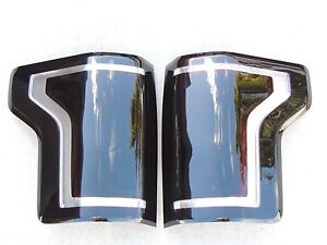 15 17 F150 Smoked Tail Lights Oem Non Led Black Tinted Halogen Ford Custom