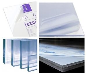 Clear Lexan Polycarbonate Plastic Sheet Vacuum Forming Window 1 4 X 24 X 36