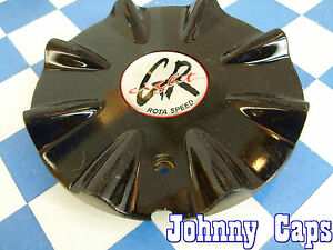Greight Rota Speed Wheels Black Custom Wheel Center Caps Used Center Cap 1