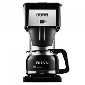Bunn 10 cup Pour o matic Coffee Brewer Black bunbxb