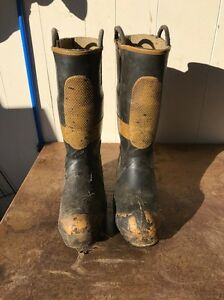 Firefighter Boots Size 9 T74