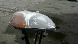 96 97 98 Honda Civic Headlight Passenger New Headlamp Ready To Ship Today