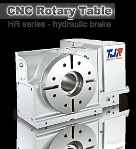 New Tjr Hr 400r Cnc 4th axis Rotary Table free Shipping