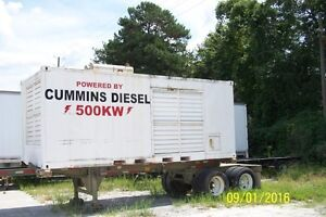 Portable 500kw Cummins Generator