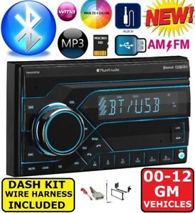 Gmc Sierra Truck Savana Van Usb Bluetooth Radio Stereo Double Din Dash Kit