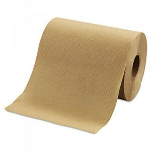 Morcon Paper Hardwound Roll Towels Brown 12 Rolls ctn morr12350