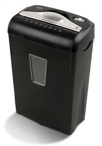 Aurora Au870ma High security 8 sheet Micro cut Paper Credit Card Shredder