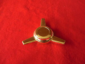 Cragar Custom Wheel Center Cap Spinner Gold Finish 60130
