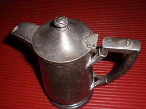 Antique Coffee Or Tea Pot Pitcher I S International Silver Co Approx 7 Inche